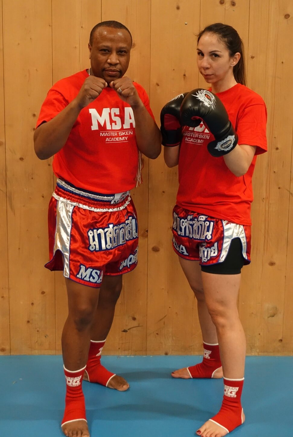 Kru Neil Teaching Muay Thai